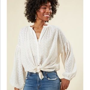 FREE PEOPLE BLOUSE!